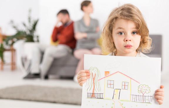 Определение места жительства детей