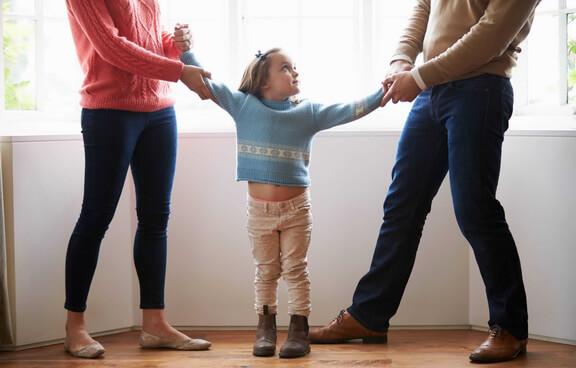 Определение порядка общения с детьми